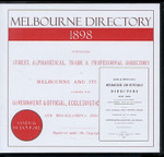 Melbourne Directory 1898 (Sands and McDougall)