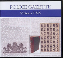 Victoria Police Gazette 1925