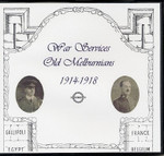 War Services of Old Melburnians 1914-1918