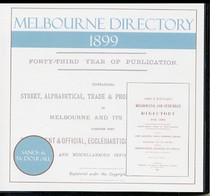Melbourne Directory 1899 (Sands and McDougall)