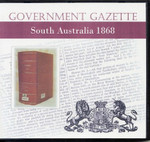 South Australian Government Gazette 1868