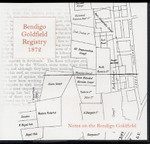 Bendigo Goldfield Registry 1872: Notes on the Bendigo Goldfield