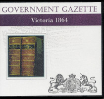 Victorian Government Gazette 1864