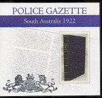 South Australian Police Gazette 1922