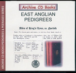 East Anglian Pedigrees