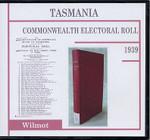 Tasmania Commonwealth Electoral Roll 1939 Wilmot