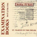 Settlement Examination Books 50-57 (1758-1769)