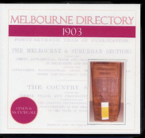Melbourne Directory 1903 (Sands and McDougall)