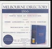 Melbourne Directory 1866 (Sands and McDougall)
