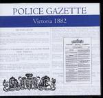 Victoria Police Gazette 1882