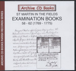 Settlement Examination Books 58-62 (1769-1775)