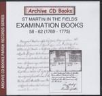 Settlement Examination Books 58-62 (1769-1775)