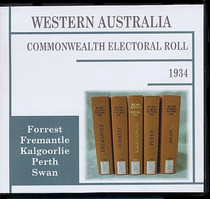 Western Australia Commonwealth Electoral Roll 1934