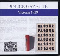 Victoria Police Gazette 1929