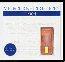 Melbourne Directory 1904 (Sands and McDougall)