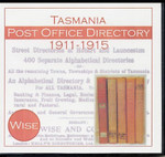 Tasmania Post Office Directory Compendium 1911-1915 (Wise)