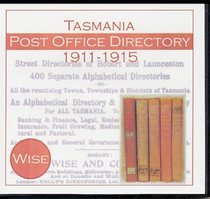 Tasmania Post Office Directory Compendium 1911-1915 (Wise)
