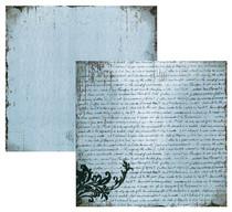 FabScraps 12x12 Heritage Script