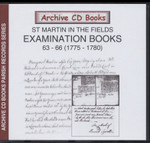 Settlement Examination Books 63-66 (1775-1780)