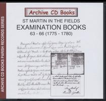 Settlement Examination Books 63-66 (1775-1780)