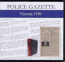 Victoria Police Gazette 1930