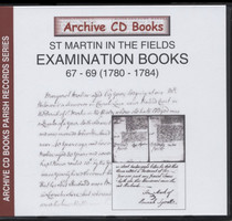 Settlement Examination Books 67-69 (1780-1784)
