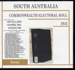 South Australia Commonwealth Electoral Roll 1943 Grey