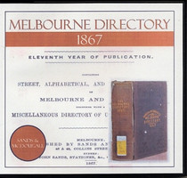 Melbourne Directory 1867 (Sands and McDougall)