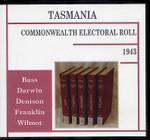 Tasmania Commonwealth Electoral Roll 1943