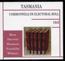 Tasmania Commonwealth Electoral Roll 1943