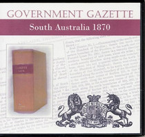 South Australian Government Gazette 1870
