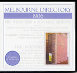 Melbourne Directory 1906 (Sands and McDougall)