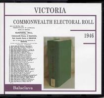 Victoria Commonwealth Electoral Roll 1946 Balaclava
