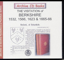 Visitations of Berkshire 1532, 1566, 1623 and 1665-6, Parts 1 and 2