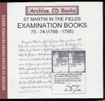 Settlement Examination Books 73-74 (1788-1795)