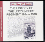 The History of the Lincolnshire Regiment 1914-1918
