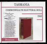 Tasmania Commonwealth Electoral Roll 1943 Denison