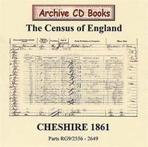 Cheshire 1861 Census