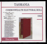 Tasmania Commonwealth Electoral Roll 1943 Darwin