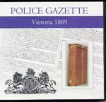 Victoria Police Gazette 1889