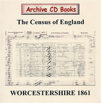 Worcestershire 1861 Census