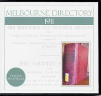 Melbourne Directory 1911 (Sands and McDougall)
