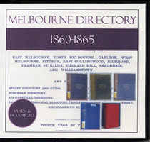 Melbourne Directory Compendium 1860-1865 (Sands and McDougall)