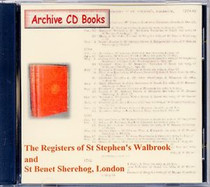 London Parish Registers: St Stephen's Walbrook and St Benet Sherehog, London