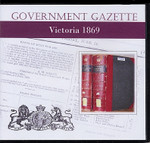 Victorian Government Gazette 1869