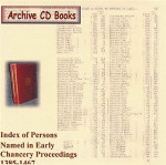 Index of Persons Named in Early Chancery Proceedings 1385-1467