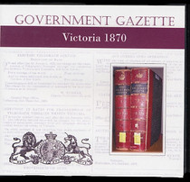 Victorian Government Gazette 1870