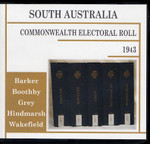 South Australia Commonwealth Electoral Roll 1943 Compendium