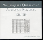 Wallangarra Quarantine Admission Registers 1918-1919