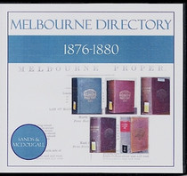 Melbourne Directory Compendium 1876-1880 (Sands and McDougall)